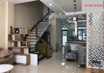 Town house for rent in Lakeview City An Phu 1 ground floor 3 floors with area of ​​265sqm