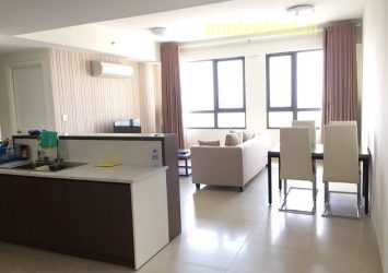 Masteri Thao Dien apartment for rent including 3 bedrooms 2 bathrooms nice view