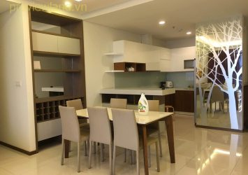 Thao Dien Pearl luxury apartment for sale with 2 Bedrooms area of 115sqm nice view