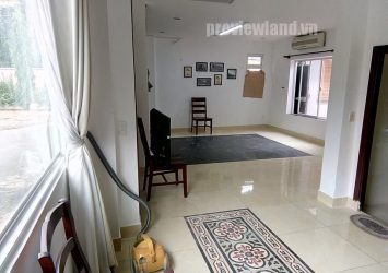 Thao Dien villa for rent with 4 bedrooms fully furnished wide balcony