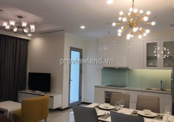 Vinhomes apartment for sale in Binh Thanh 2PN high-grade furniture