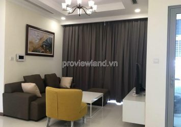 Vinhomes Central Park apartment for rent with 2 bedrooms low floor area of 75m2