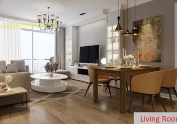 Vinhomes Central Park apartment for sale with 3 bedrooms area of 115sqm beautiful view