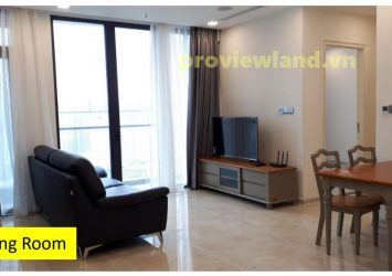 Vinhomes Golden River apartment for rent with area of ​​72m2 with 2 bedrooms river view