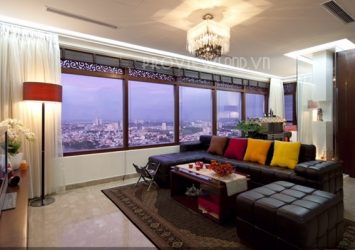 Penthouse Saigon Pearl apartment for sale area of 209sqm 4 bedrooms beautiful view
