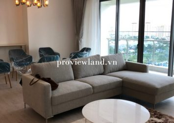 Apartment for rent in GateWay Thao Dien 4 bedrooms new furniture 100%