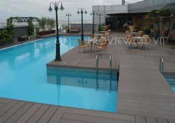 Sailing Tower apartment for rent in District 1 including 2 bedrooms beautiful view