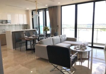 Nice 3 bedroom river view apartment for rent in Vinhomes Golden River