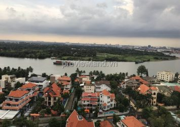 Selling luxury apartment in Thao Dien Nassim 3 bedroom high floor river view