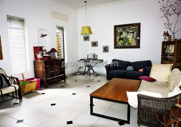 The house in Thao Dien for sale with 1 floor+attic area 198m2 3BRS has a red book