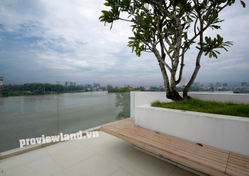 Selling Thao Dien villa on the bank of the Saigon River area 405m2 6BRS large garden pool
