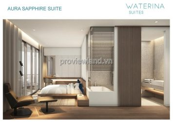 Selling apartment Waterina Suites District 2 area 151m2 2 bedrooms 1 working room