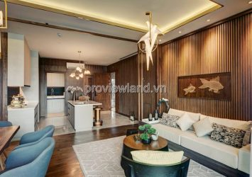 Selling 3 bedrooms apartment in D'edge Thao Dien area 149m2 river view