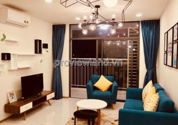 Riva Park Apartment for rent District 4 area 102m2 3 bedrooms full furniture