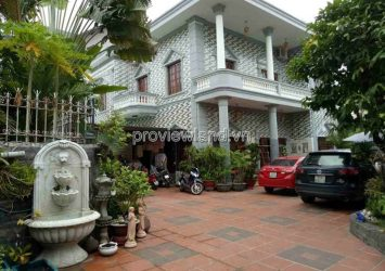 Thao Dien villa for rent on 43 street 3 bedrooms area 500m2 garden pool