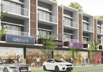 Town house for sale Paml Residence District 2 area 8x17m 4 bedrooms garage