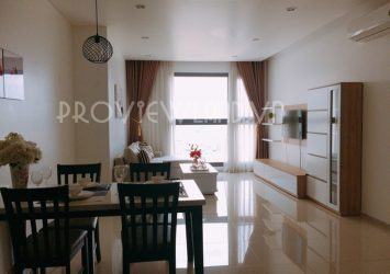 Pearl Plaza apartment for rent Binh Thanh area of ​​101sqm with 2 bedrooms