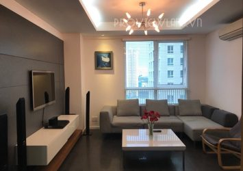 The Manor apartment for rent in Binh Thanh district has 2 bedrooms nice view