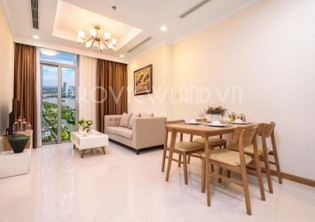 Luxury apartment for rent in Vinhomes Central Park area of 80sqm with 2 bedrooms
