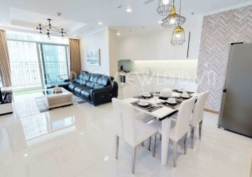 Landmark 6 apartment for rent including 4 bedrooms at Vinhomes Central Park nice view