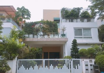 Villa Riviera villa An Phu for rent have area 450m2 full furniture garden