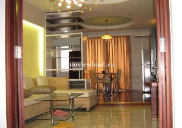 Central Garden apartment for rent in District 1 2 bedrooms area 90m2