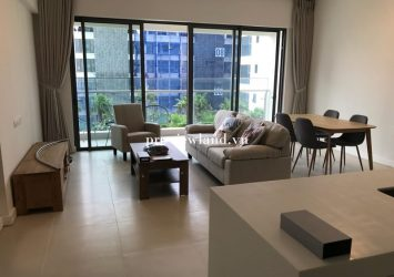 Apartment for rent 2-bedroom fully furnished at Gateway Thao Dien