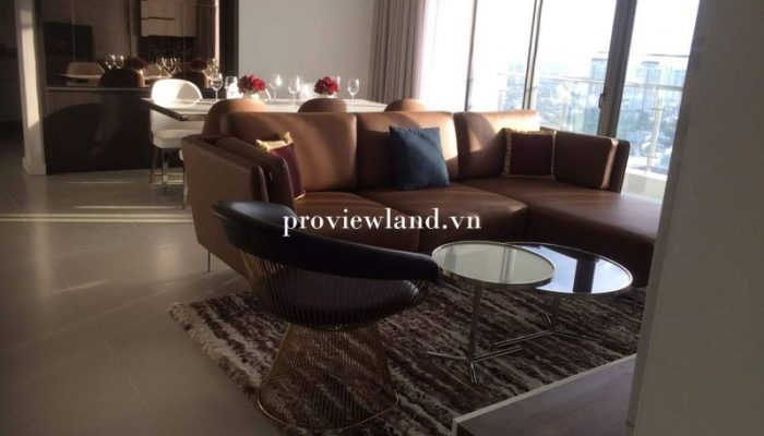 Apartment for rent Gateway Thao Dien 4 bedrooms 144sqm full ...