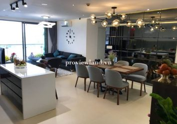 Selling apartment The Gold View District 4 3 bedrooms area 117m2 beautiful furniture
