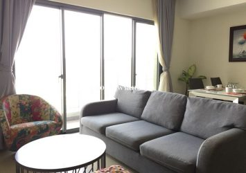 Masteri Thao Dien apartment for rent T1 tower 3 bedrooms fully furnished