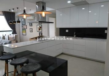 Apartment for rent Masteri Thao Dien 3 bedrooms full furniture