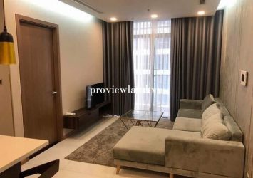 Serviced apartment Vinhomes Central Park for rent 2 bedroom luxury bedrooms at Tower The Park 4