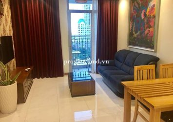 Serviced apartment for rent with 2 bedrooms area 80m2 at The central 3 tower  Vinhome Central park