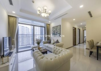 3-bedroom serviced apartment for rent in Landmark Plus Tower Vinhomes Central Park