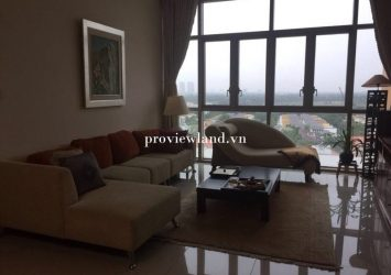 Apartment for rent The Vista 3 bedrooms full furniture river view