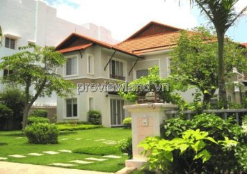 Super villa for sale An Phu An Khanh District 2 1 basement 1 ground floor 2 floors