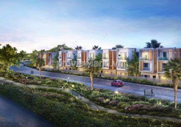 Villa for sale Palm Residence has an area of 8mx17m including 1 ground floor 2 floors