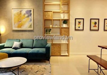 Apartment 90m2 at Thao Dien Gateway District 2 with 2BRS rivers view north west