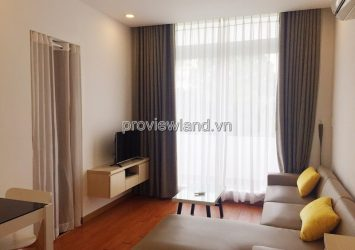 Serviced apartment for rent in Binh Thanh District Truong Sa Street has a bathtub