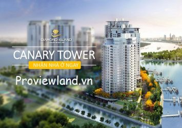 Officetel apartment for sale one bedroom in Canary the last tower of Diamond Island
