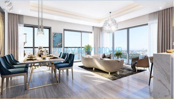 Căn hộ tháp Canary Officetel cần bán tại Đảo Kim Cương gồm 2 phòng ngủ