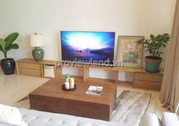 For rent apartment The Nassim District 2 15th floor river view 2 bedrooms luxury furniture