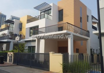 For rent Villa Riviera An Phu District 2 area 320m2 4 bedrooms 2 living room
