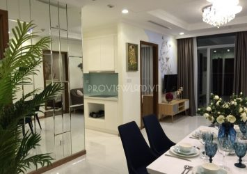 Landmark 2 serviced apartment for rent at Vinhomes Central Park with 3 bedrooms beautiful view