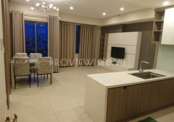 Beautiful apartment for rent at Masteri Thao Dien 2 bedrooms area of 72m2 nice view