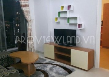 Masteri Thao Dien apartment for rent high floor 68sqm 2 bedrooms full of necessary appliances