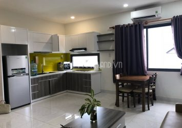 Serviced apartment for rent with 2 bedrooms at Thao Dien ward