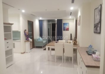 Serviced apartment for rent in Vinhomes Central Park with 3 bedrooms fully furnished