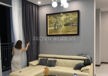Penthouse apartment for rent at Vinhomes Central Park nice view with fully furnished