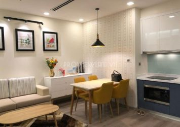 Serviced apartment Park 1 tower for rent 1 bedroom at Vinhomes Central Park river view